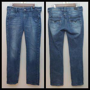 Vigoss Medium Wash Straight Leg Jeans Size 9